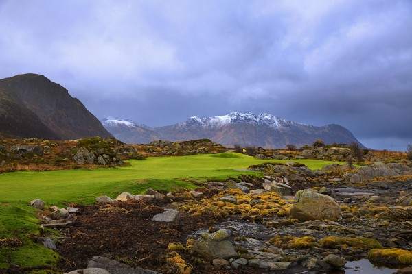 Lofoten Links, Hole 14