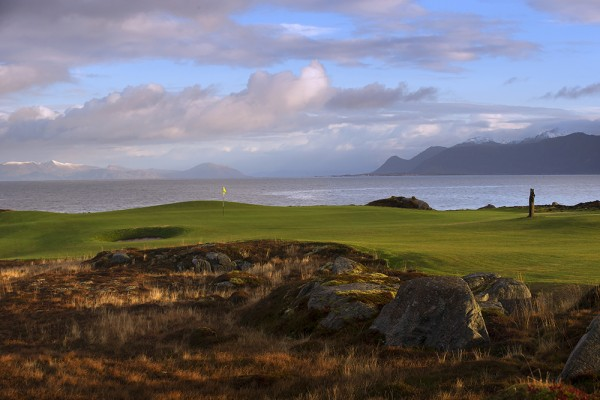 Lofoten Links, Hole 13
