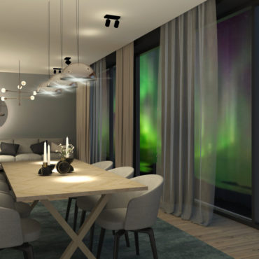 Dining area_northern lights